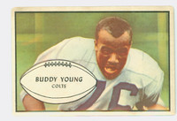1953 Bowman Football 30 Buddy Young Baltimore Colts Very Good