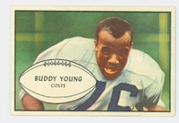1953 Bowman Football 30 Buddy Young Baltimore Colts Excellent to Mint