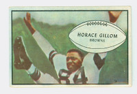 1953 Bowman Football 40 Horace Gillom Cleveland Browns Excellent to Excellent Plus
