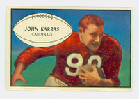 1953 Bowman Football 51 John Karras St. Louis Cardinals Excellent to Excellent Plus