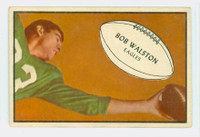 1953 Bowman Football 79 Bobby Walston Philadelphia Eagles Excellent