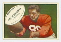 1953 Bowman Football 86 Don Stonesifer St. Louis Cardinals Very Good to Excellent