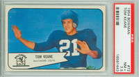 1954 Bowman Football 72 Tom Keane Baltimore Colts PSA 7.5 Near Mint Plus