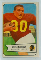 1954 Bowman Football 110 Steve Meilinger Washington Redskins Excellent to Excellent Plus