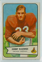 1954 Bowman Football 117 John Olszewski Excellent to Excellent Plus