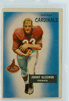 1955 Bowman Football 3 John Olszewski Chicago Cardinals Very Good