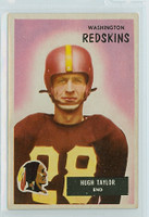 1955 Bowman Football 6 Hugh Taylor Washington Redskins Excellent to Excellent Plus