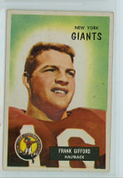 1955 Bowman Football 7 Frank Gifford New York Giants Very Good