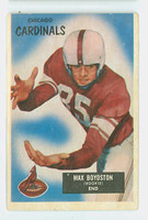 1955 Bowman Football 18 Max Boydston Chicago Cardinals Very Good