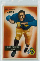 1955 Bowman Football 23 Harry Thompson Los Angeles Rams Excellent to Excellent Plus