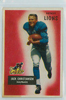 1955 Bowman Football 28 Jack Christiansen Detroit Lions Excellent to Mint