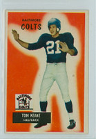 1955 Bowman Football 30 Tom Keane Baltimore Colts Excellent to Mint