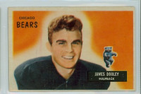 1955 Bowman Football 40 Jim Dooley Chicago Bears Excellent