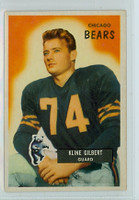 1955 Bowman Football 49 Kline Gilbert Chicago Bears Very Good to Excellent