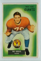 1955 Bowman Football 51 Ray Krouse New York Giants Excellent to Excellent Plus