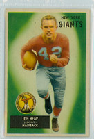 1955 Bowman Football 55 Joe Heap New York Giants Excellent to Excellent Plus