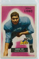 1955 Bowman Football 59 Charlie Ane Detroit Lions Excellent
