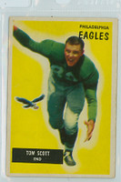 1955 Bowman Football 105 Tom Scott Philadelphia Eagles Very Good