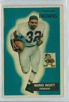 1955 Bowman Football 156 Maurice Bassett Cleveland Browns Excellent