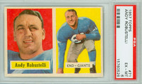 1957 Topps Football 71 Andy Robustelli New York Giants PSA 6 Excellent to Mint