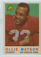 1959 Topps Football 50 Ollie Matson Los Angeles Rams Very Good