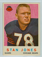 1959 Topps Football 96 Stan Jones Chicago Bears Excellent