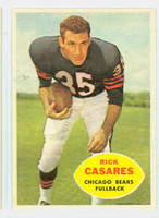 1960 Topps Football 13 Rick Casares Chicago Bears Excellent to Mint