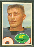 1960 Topps Football 16 Harlon Hill Chicago Bears Excellent to Mint