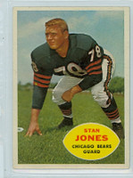 1960 Topps Football 17 Stan Jones Chicago Bears Excellent to Excellent Plus