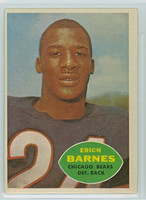1960 Topps Football 19 Erich Barnes ROOKIE Chicago Bears Excellent