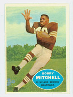 1960 Topps Football 25 Bobby Mitchell Cleveland Browns Excellent to Mint