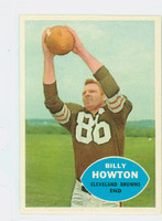 1960 Topps Football 27 Bill Howton Cleveland Browns Excellent to Mint