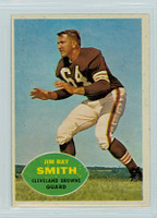 1960 Topps Football 28 Jim Ray Smith Cleveland Browns Excellent to Mint