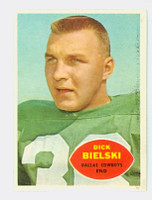 1960 Topps Football 36 Dick Bielski Dallas Cowboys Near-Mint