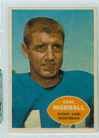 1960 Topps Football 41 Earl Morrall Detroit Lions Excellent to Mint