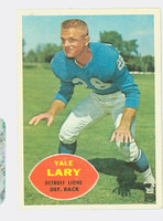 1960 Topps Football 48 Yale Lary Detroit Lions Very Good to Excellent