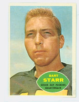 1960 Topps Football 51 Bart Starr Green Bay Packers Excellent to Mint