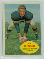 1960 Topps Football 57 Jim Ringo Green Bay Packers Excellent to Excellent Plus