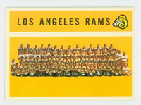1960 Topps Football 71 Rams Team Excellent to Mint