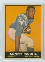 1961 Topps Football 2 Lenny Moore Baltimore Colts Excellent