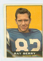 1961 Topps Football 4 Raymond Berry Baltimore Colts Excellent