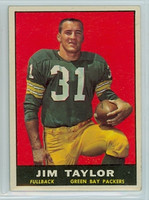1961 Topps Football 41 Jim Taylor Green Bay Packers Excellent
