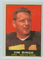 1961 Topps Football 44 Jim Ringo Green Bay Packers Excellent to Excellent Plus