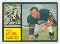 1962 Topps Football 21 Doug Atkins Chicago Bears Excellent