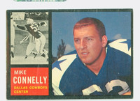 1962 Topps Football 44 Mike Connelly Dallas Cowboys Excellent to Mint