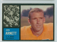 1962 Topps Football 78 Jon Arnett Single Print Los Angeles Rams Excellent