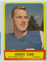 1963 Topps Football 3 Jimmy Orr Baltimore Colts Very Good to Excellent