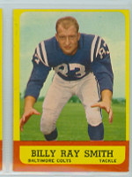 1963 Topps Football 9 Billy Ray Smith ROOKIE Baltimore Colts Near-Mint