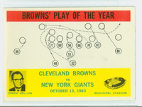 1964 Philadelphia 42 Browns Play Excellent