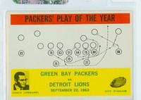1964 Philadelphia 84 Packers Play (Lombardi) Excellent to Mint